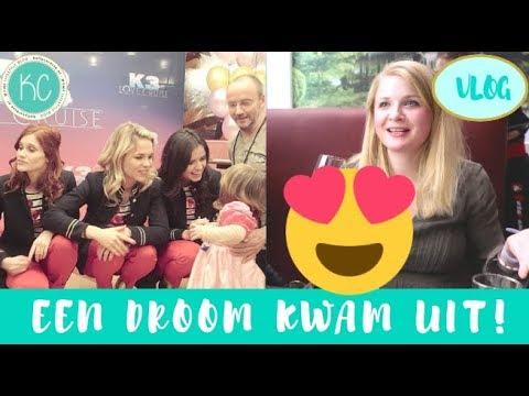 VLOG 3 | Meisjes bij K3 LOVE CRUISE 💞 en ziek geworden 🤒 | Kelly caresse