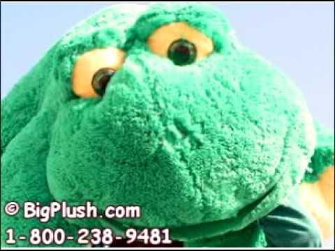 Bigplush Com Giant Stuffed Talking Frog Big Plush Funny Animal Youtube