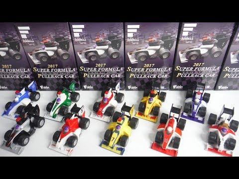 【盒玩 食玩】F-TOYS 超級方程式迴力車 2018 SUPER FORMULA 賽車 迴力車 賽車模型 模型車