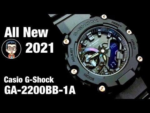 ดุดันในทุกองศา มาพร้อมกับความเเข็งเเกร่งที่พร้อมจะตะลุยไปในทุกสถานการณ์ CASIO G-SHOCK GA-2200BB-1A