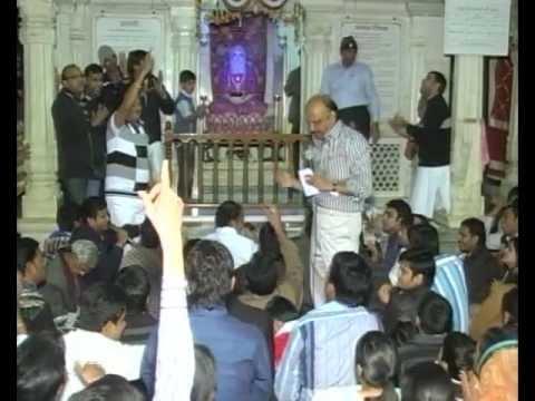 SHANTI GURUDEV BHAJAN IN MANDOLI by Subhash Porwal Chhaye kali ghataye to kya 31st dec