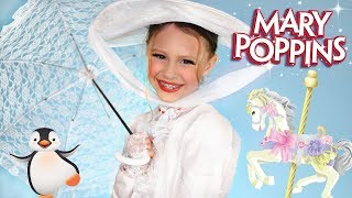 Disney Mary Poppins Makeup and Costume
