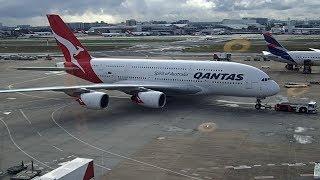 Quick Flight Review Qantas QF1 A380 Sydney to Singapore Business Class