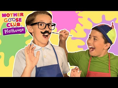 Johnny Johnny learn Colors Yes Pappa | Mother Goose Club Playhouse Popular Rhymes Collection