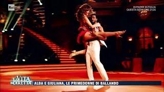 Giuliana De Sio e Alba Parietti, le primedonne di Ballando - La Vita in Diretta 18/04/2017