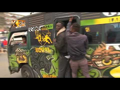 Selling coins to matatu traders for a profit