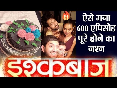 Ishqbaaz: Nakuul Mehta, Surbhi Chandna & Others Celebrate SUCCESS Of 600 Episodes । FilmiBeat