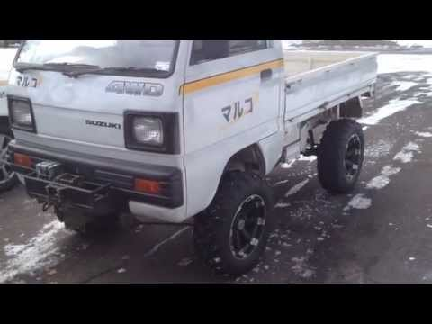 "Suzuki Carry Japanese Mini Truck 6"" lift"