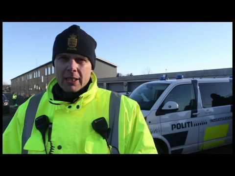 Politieftersøgning i Snejbjerg
