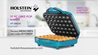 HF-09035- 35PC Cake Pop Maker- Holstein Housewares