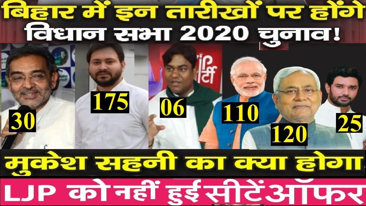 तारीखों के एलान Bihar Election, 🔥💥कौन कितने सीटों पे चुनाव लड़ सकता है?🔥💥
