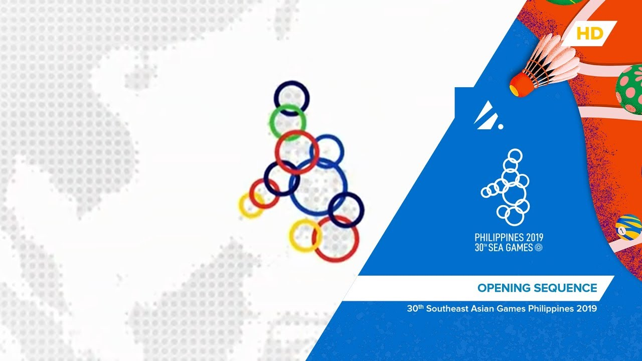 Philippines 2019 SEA Games - NEP Broadcast Opening Sequence - YouTube