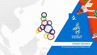 Philippines 2019 Sea Games - Nep Broadcast Opening Sequence