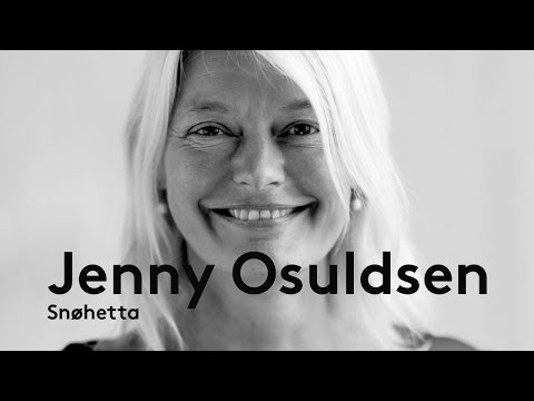 "Jenny Osuldsen (Snohetta) @ Night of Architecture - ""Site matters"""