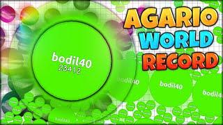 AGARIO WORLD RECORD: 64 MEGA PIECES IN SECONDS (23242 MASS) (Agar.io #130 - New Gamemode MEGA-SPLIT)