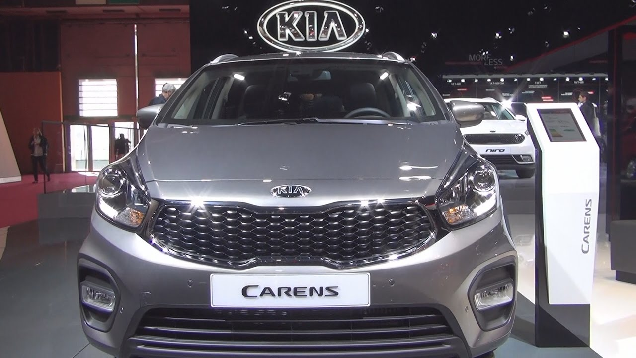 kia carens 1 7 crdi 141 hp isg 2017 exterior and interior in 3d youtube. Black Bedroom Furniture Sets. Home Design Ideas