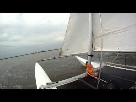 sailing a 'cat'