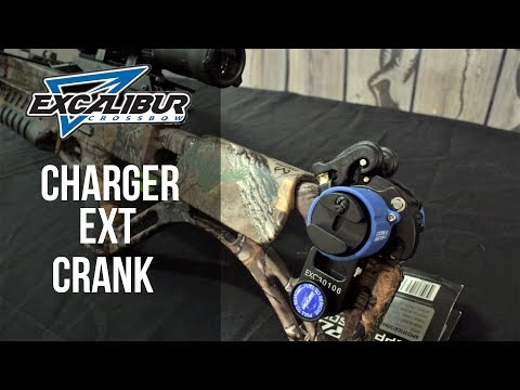 Bulldog 95925 2018 Excalibur Archery Charger EXT Crank for Crossbow//Xbow Micro