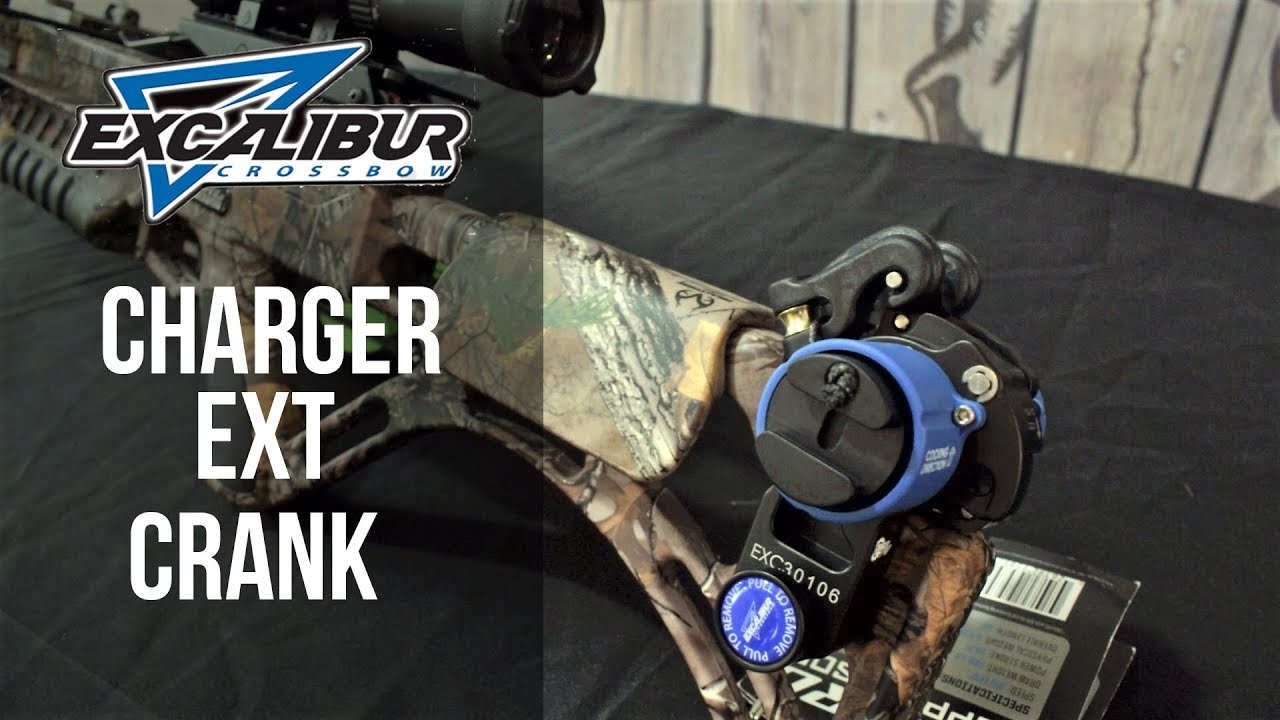 Installing and Using the Excalibur Charger EXT Crank