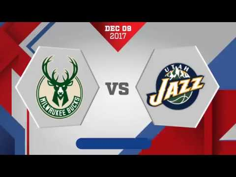 Utah Jazz vs Milwaukee Bucks: December 9, 2017
