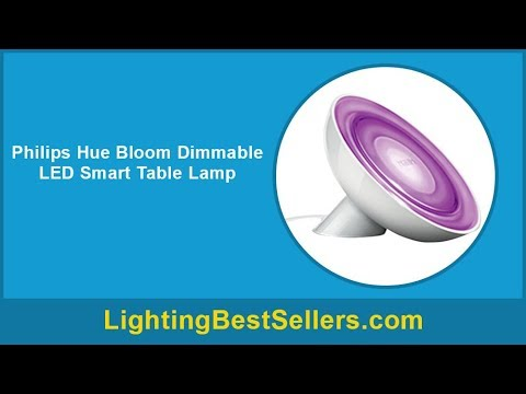 Philips Hue Bloom Dimmable Led Smart Table Lamp Youtube