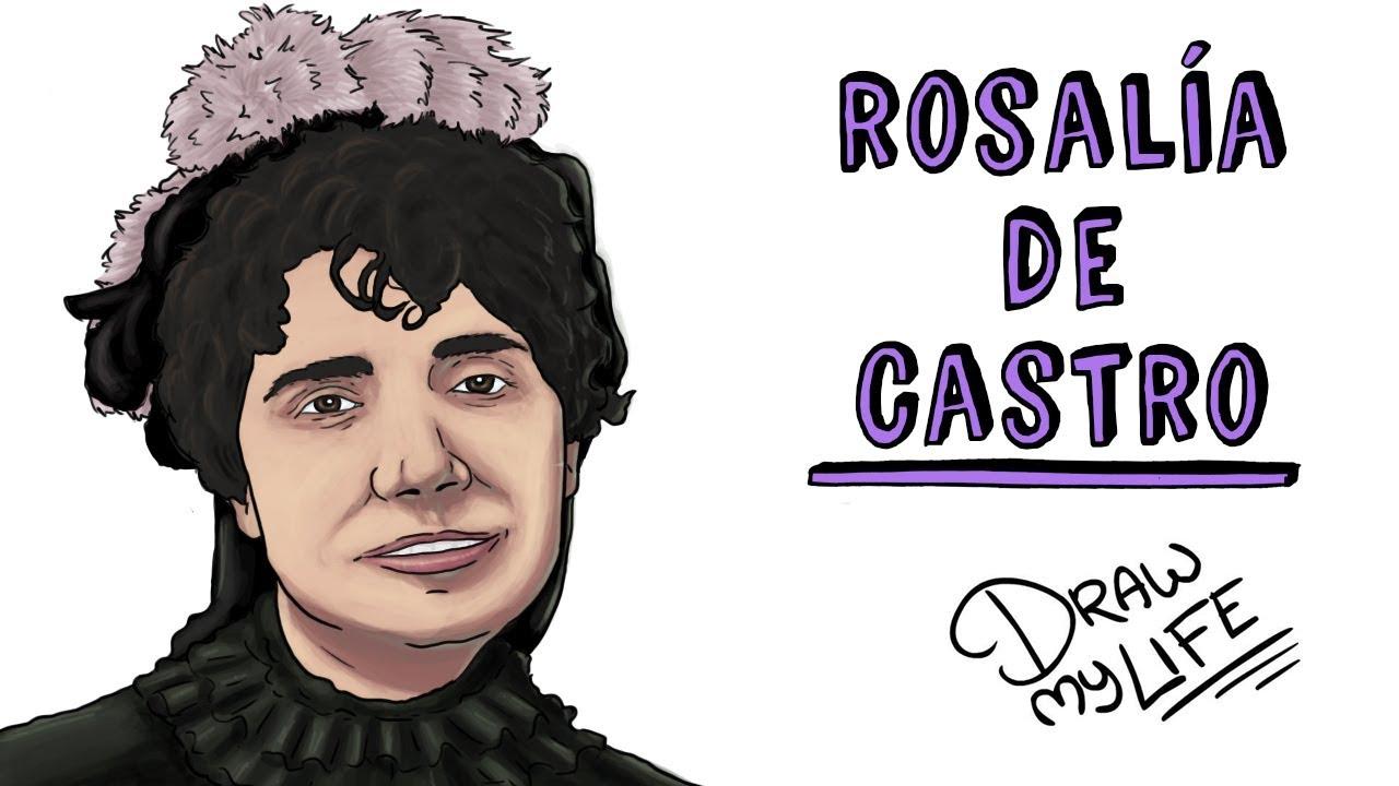 ROSALÍA DE CASTRO | Draw My Life
