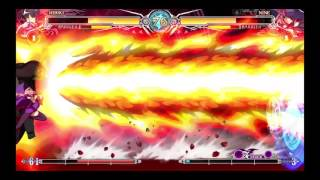 This was a better match for me practicing BlazBlue: Central Fiction...