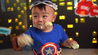 My little Hero|Cake Smash 生日拍攝