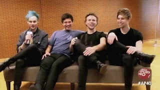 5 Seconds of Summer chat with Dom Lau on Asia Pop 40 (Full Interview)