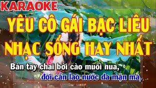 Karaoke YêU Cô Gái Bạc Liêu | Cha Cha Cha Cực Hay | Nhạc Sống Hay Nhất 2017 | Keyboard Kiều Sil