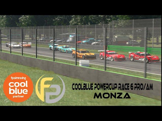 Live PS4-uitzending van FP Sim Racing  GTSport CoolBlue Power Cup Race 6 Pro/Am
