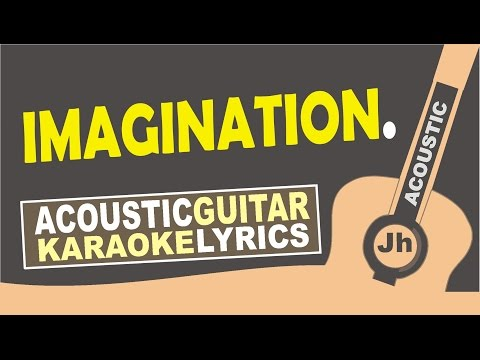 Shawn Mendes - Imagination ( Karaoke Acoustic )