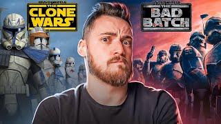 Звездные Войны: Обзор от 'Войны Клонов' до 'Бракованной Партии' | The Clone Wars \u0026 The Bad Batch