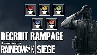 NERF RECUIT (6 Siege Recruit highlights)
