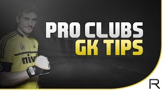 fifa 15 pro clubs gk tips dealing with sweaty passes