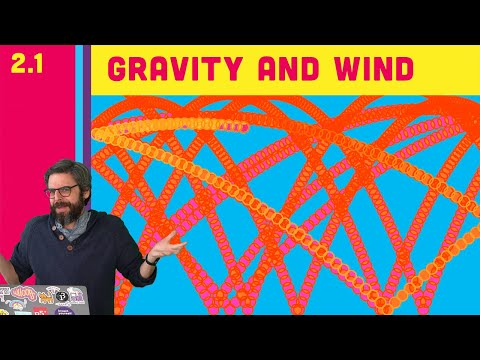 2.1 Simulating Forces: Gravity And Wind - The Nature Of Code