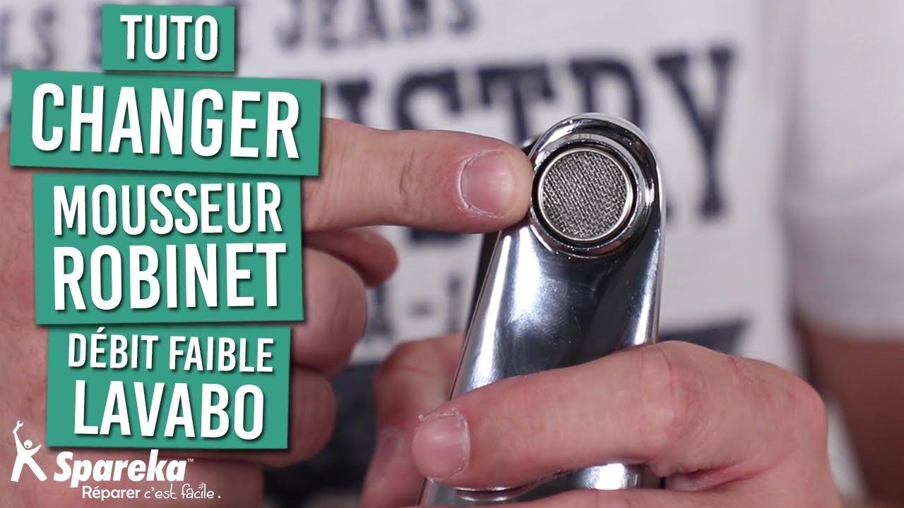 Comment changer le mousseur de votre mitigeur de lavabo