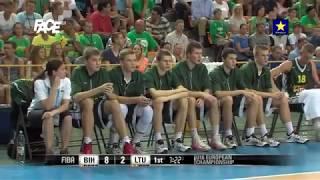 U16 FINALE; BOSNA I HERCEGOVINA -LITVANIJA  85 83