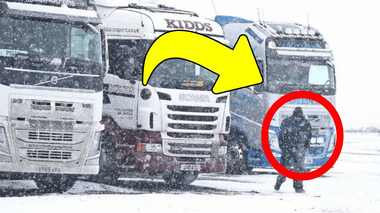 After Hearing A Strange Noise Near A Semi Truck, This Man Knew He Had To Act Fast