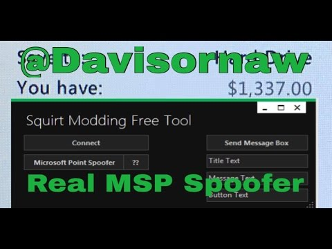 How to Spoof MSP/Money on RGH/JTAG Console