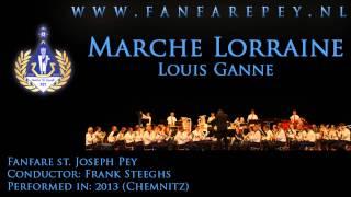 Marche Lorraine - Louis Ganne - Fanfare st. Joseph Pey