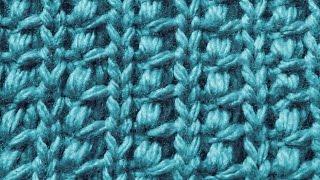 Декоративная Индийская резинка Вязание спицами Видеоурок 26