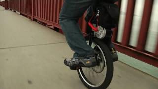 MythBuster Adam Savage   SBU (Self-Balancing Unicycle)