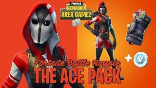 FORTNITE CHILE BATTLE ROYALE 2018 - THE ACE PACK // BUYING STARTED PACK 3