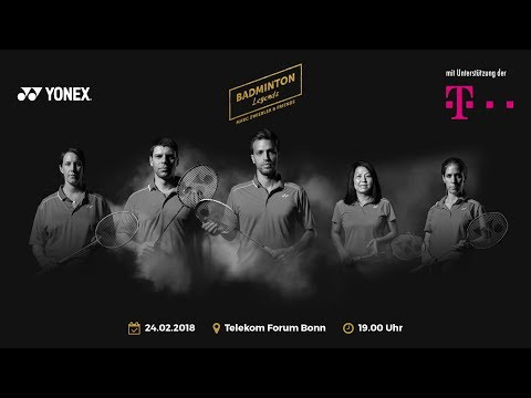 Badminton Legends 2018 Telekom Forum Bonn