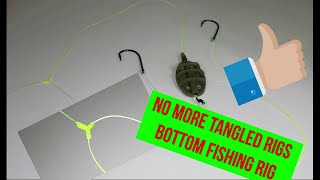 No more tangled rigs Bottom fishing rig
