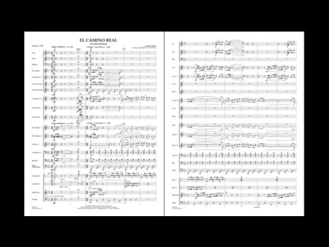 El Camino Real by Alfred Reed/arr. Robert Longfield