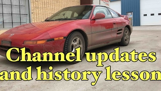 homepage tile video photo for Channel update and a bit of history.