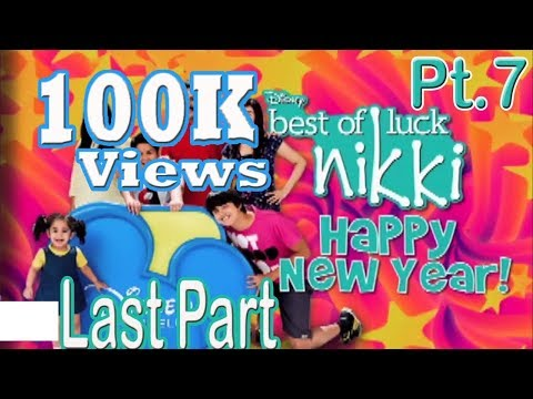 Part 7  Last Episode  : New Year Special  Best Of Luck Nikki Season 4 Funny Show 2017-2018