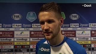 Parzyszek scoort opnieuw voor Zwolle: